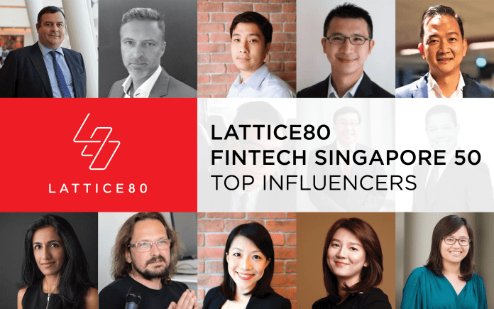 Honored to be Selected for Lattice80's Fintech Singapore 50 – Top Influencers